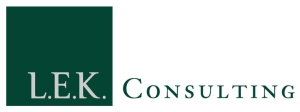 LEK Logo mit Schrift